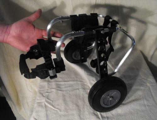 Teenie, Tiny, Doggie Wheelchair